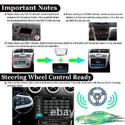 CarAutoplay Android10 WIFI 9Inch Double DIN Car Radio Stereo DAB+ GPS For VW CCD