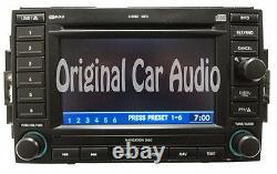 Dodge Jeep Chrysler Navigation Radio 6 Disc CD Changer Display P056038646AM REC