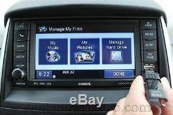 Factory Mopar Dodge 430 Rbz Sirius DVD Aux CD Player Touchscreen Mygig Radio