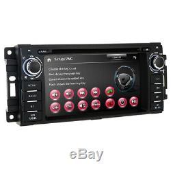 In Dash Car Stereo Radio Vedio GPS Navi DVD Player For Dodge RAM 1500 2009 2010