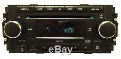 JEEP DODGE CHRYSLER REF Radio CD Player AUX 04 05 06 07 08 Chrome Knob OEM