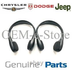 OEM Dodge Jeep Wireless Entertainment 2 Headphones See Chart for Compatible Car