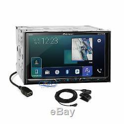 Pioneer DVD Sirius GPS Ready Radio Dash Kit Harness for 07+ Chrysler Dodge Jeep
