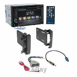 Planet Audio Car Radio Stereo Dash Kit Harness for 2007-14 Chrysler Dodge Jeep