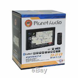Planet Audio Car Radio Stereo Dash Kit Harness for 2007-14 Chrysler Dodge Jeep
