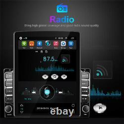 Quad-Core Android 9.1 2GB RAM 9.7 HD Car Stereo Radio GPS Navi WIFI DAB OBD