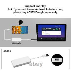 Quad Core Head Unit 2Din 10 Android 10 Car Stereo GPS Radio HD Screen +Camera l