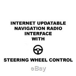 Radio Interface for Chrysler/Dodge/Jeep Factory Amp and Steering Wheel Control