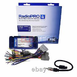 Radio Replacement Interface Steering Retention withAntenna for Chrysler Dodge Jeep
