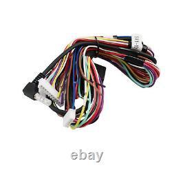 Radio Replacement Interface & Steering Wheel Controls Adapter withDash Kit/Antenna