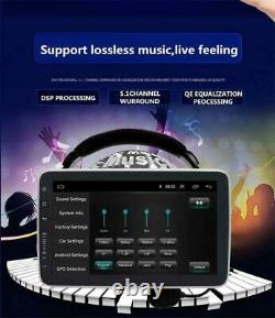 Rotatable 10.1in 2Din Android 9.1 Car Stereo Radio GPS Navigation FM WiFi Player