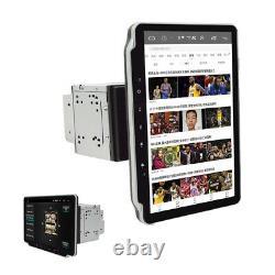 Rotatable 2Din 10.1 Car Player Stereo Android 9.1 Wifi Bluetooth GPS Nav Radio