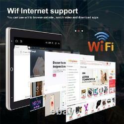 Rotatable Android 9.1 Car Stereo GPS Navigation Radio Player Single Din WIFI 10