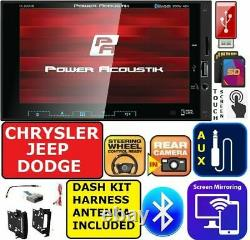Select 2007 &up Chrysler Jeep Dodge Ram Am/fm Bluetooth Usb Aux Car Radio Stereo