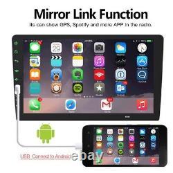 Single 1 DIN Touch Screen Car Stereo Radio 9'' MP5 MP3 Player Head Unit USB/TF