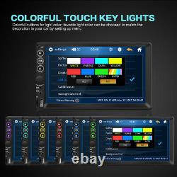 Single 1Din 7 HD Car Stereo Radio MP5 Player Bluetooth Touch Screen USB TF FM