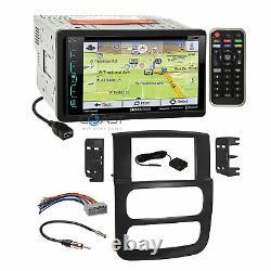 Soundstream DVD GPS Sirius Stereo Dash Kit Harness for 02-05 Dodge Ram Truck