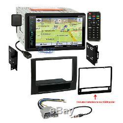 Soundstream GPS Bluetooth SiriusXm Stereo Dash Kit Harness for 06-08 Dodge Ram