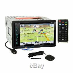 Soundstream GPS Sirius Stereo Dash Kit Harness for 2004-08 Chrysler Dodge Jeep