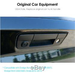 Tailgate Handle Backup Rear View Camera for Dodge Ram 1500 2500 3500 2010 2017