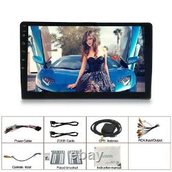US 10.1 1 DIN Android 9.1 1+16G Car Bluetooth Stereo Radio MP5 Player GPS WIFI